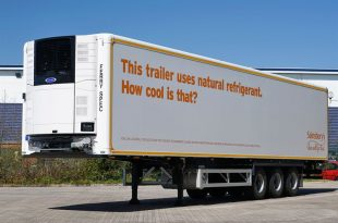 Sainsbury's First Carrier Natural Refrigerant Trailer Unit