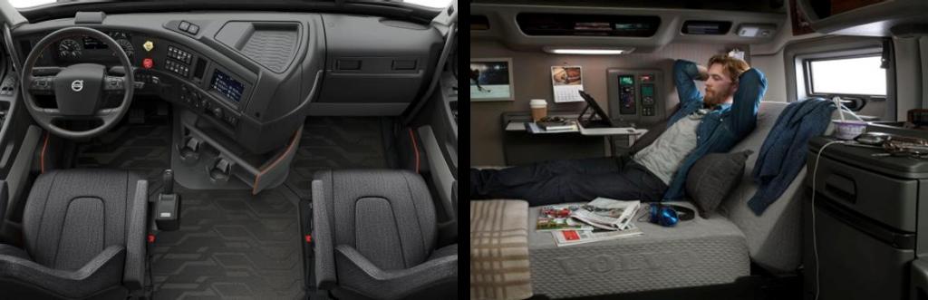 New Volvo VNL Living