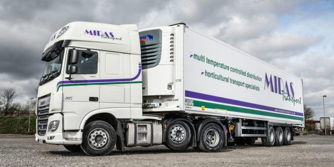 Schmitz Cargobull Reefer Midas Transport
