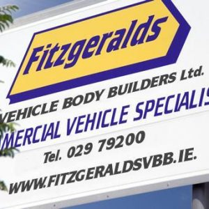 Logo Fitzgeralds Vehicle Body Builders