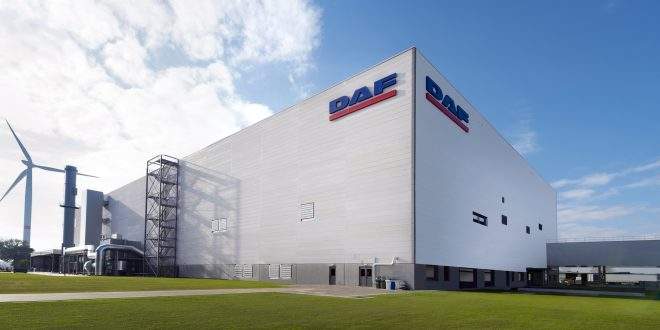 DAF Trucks New Cab Paint Shop in Westerlo