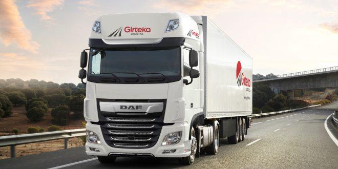 500 DAF XF trucks Girteka Logistics