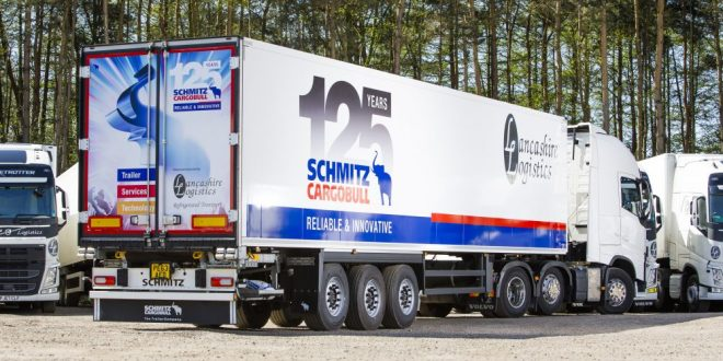 Schmitz Cargobull Lancashire Logistics