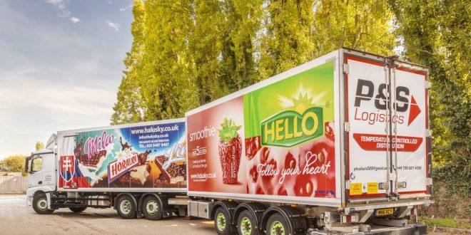 P&S Logistics Schmitz Cargobull